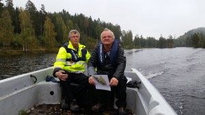 Klaus Fottland og Torgeir Svensen
